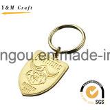 Anello chiave del metallo quadrato alla moda di figura (Y02276)