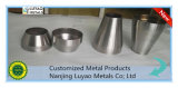 Peça do giro de metal da folha do alumínio 6061