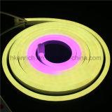 Alteração da cor perseguindo o Neon Flex LED com controle DMX