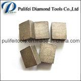 A fórmula diferente do pó considerou o segmento do diamante da lâmina para a pedra da estaca