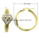 De Oorring van de Juwelen van het Roestvrij staal van de Douane van de Juwelen van Shineme met Kleur CZ (ERS6926)