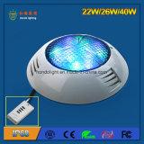 Lumière de piscine légère LED 40W IP68