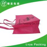 昇進の安いロゴはカスタマイズされたリサイクルされた買物をすることを印刷しなかった編まれた袋