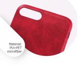 Personalizar elegante rojo de 5,5 pulgadas con textura Celular Caso