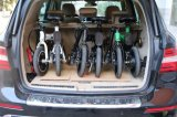 Bicicletta elettrica piegante della E-Bici (IDEWALK F1) con il blocco per grafici della lega di alluminio