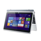 10.1 pulgadas con pantalla táctil desmontable 2 en 1 Laptop Tablet PC