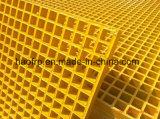 Vidrio de fibra, rejas resistentes a la corrosión de FRP/GRP