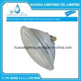 indicatore luminoso del raggruppamento di nuoto LED di 12V/24V 24W IP68 PAR56