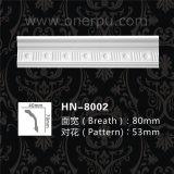 Cinzelando moldes do Cornice para o molde de coroa Home Hn-8002 do plutônio da decoração