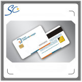 Kundenspezifische intelligente IS Chipkarte des Drucken-Kartenkontakt-