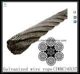 6X26 Iwrcの影響SwagedワイヤーロープEips