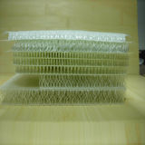 Incêndio - tela resistente da fibra de vidro 3D