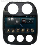 Système de l'androïde 6.0 navigation du large écran GPS de 10.1 pouces pour la boussole 2016 de jeep