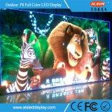 Sobre la pantalla al aire libre del alquiler LED de 6800nits P8 (640mm*640m m)