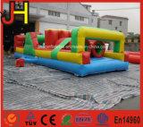 Obstáculos inflables para el juego inflable del curso de obstáculo de los cabritos