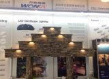 12V 3.5W haz de dirección ajustable impermeable luz exterior LED paso