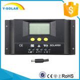 controlador solar S30 da carga da função de controle de 30A 12V/24V Light+Timer