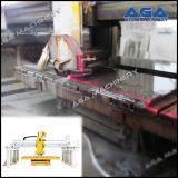 De Scherpe Machine van de steen/van het Marmer/van het Graniet met het Overhellen van het Blad 45degree (HQ400/600)