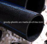 Tubulação de água plástica do polietileno do fabricante PE100 PE80 do presente