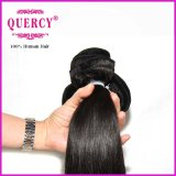 Pode ser tingido Straight Indian Remy Hair Bulk Machine Weft