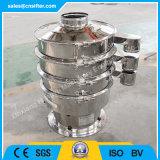 Separador vibrante del tamiz de las granes fuerzas para la filtración líquida