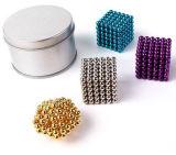 Esfera colorida das esferas do ímã do Neodymium 216PCS de 5mm