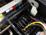 デジタル自動車A3のEpson Dx5の印字ヘッドが付いているカスタムTシャツの綿のキャンバスファブリック印字機