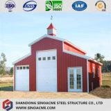 ISO에 의하여 증명서를 주는 강철 제작 조립식 구조상 간이 차고 또는 헛간 또는 창고