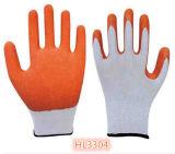 перчатка латекса полиэфира 13G