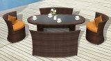 Mobilia esterna ovale stabilita Rattanfurniture del sofà ovale del rattan