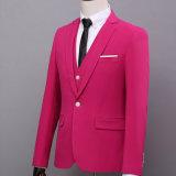 New Arrival Bespoke Wedding Suit para homens de lã