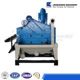 Separação Desander da areia da água do Hydrocyclone para a pasta
