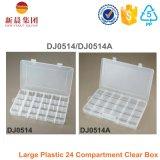 Grandes 24 boîtes en plastique de compartiment