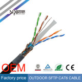 Sipu SoemSFTP CAT6 LAN-Kabel-Großverkauf-wasserdichtes Kabelnetzwerk