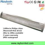 Alta de la luz de la Bahía de LED LED lineal de 120 vatios de luz de la Bahía de alta