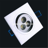 Interpréteur de commandes interactif blanc 3X1w DEL Downlight