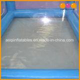 Flatable 군 천막 (AQ7366-1)에 있는 큰 옥외 팽창식 파란 바다 천막