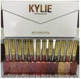 Kylie Edición Limitada de líquidos pintalabios Lipgloss mate resistente al agua 12pcs/Set