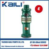 QY llenos de aceite de la bomba sumergible bomba del agua potable