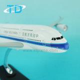 Escala 1: 150 A380 modelo de avião da linha aérea de resina