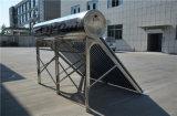 Aquecedor de água solar de alta eficiência em aço inoxidável com aprovação Ce