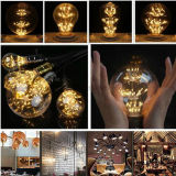 3W Edison Bulb LED Strip E27 G80 Creatives Sky Stars Starry String Light Filament Lamp Home Bar Décor Pendentif Éclairage 110-240V