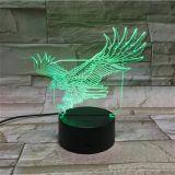 Regali e decorazioni acrilici dei mestieri 3D LED