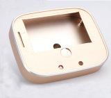 Pièces jointes en aluminium de fraisage personnalisées de commande numérique par ordinateur avec l'anodisation d'or de Rose