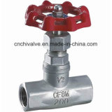 Edelstahl-Gewinde-Kugel-Ventil ANSI-Hersteller