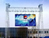 Pantalla al aire libre impermeable de P5 LED con el panel de visualización de 640X640m m