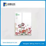 型抜きの特別な形カラーパンフレットの印刷