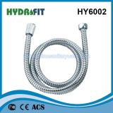 Ss 304 van het Slot van 1.5m Verlengbare Enige Sanitaire Waren van de Slang van de Douche de Hoofd (HY6002)