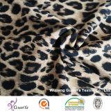 Превосходная ткань мытья песка печати леопарда для платья