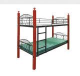 Het moderne Bed van de Slaapzaal van het Stapelbed van het Metaal van het Staal van het Meubilair Shool (hx-JY013)